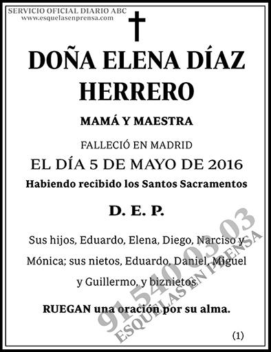 Elena Díaz Herrero
